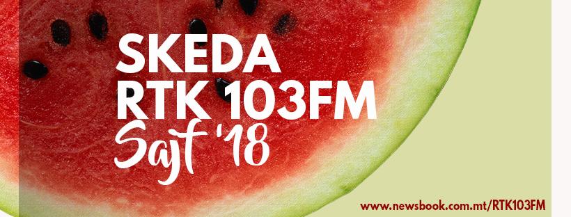 Skeda Sajf RTK 103FM 2018