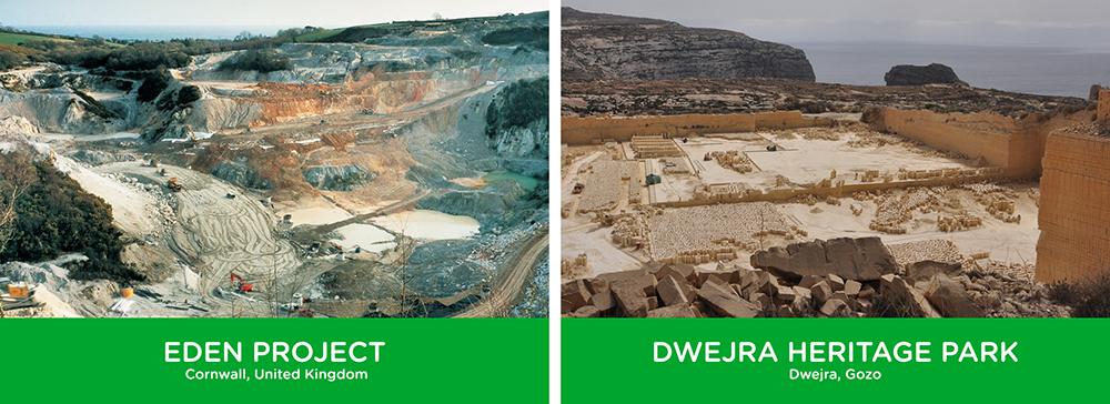 Eden Project Dwejra Heritage Park